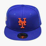 "NEW YORK  METS ""50TH ANNIVERSARY"" NEW ERA 59FIFTY FITTED (PINK BOTTOM)"