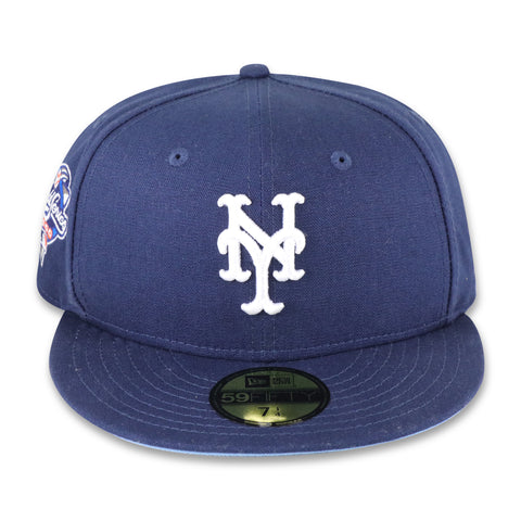 "NEW YORK METS (2000 WS ""REVERSE RIVALRY"") NEW ERA 59FIFTY FITTED (SKY BLUE BOTTOM)"
