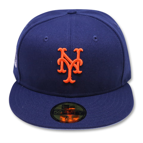 "NEW YORK METS (NAVY) (2008 ASG) ""REVERSE RIVALRY"" NEW ERA 59FIFTY FITTED (SKYBLUE BOTTOM)"