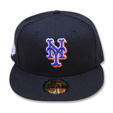 NEW YORK METS (BLACK)(2013 ALLSTARGAME) NEW ERA 59FIFTY FITTED (PINK BOTTOM)