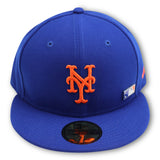 NEW YORK METS ROYAL PINNED-UP NEW ERA 59FITTED