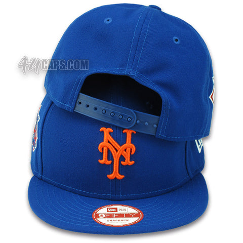 NEW YORK METS NATIONAL LEAGUE NEW ERA 9FIFTY SNAPBACK