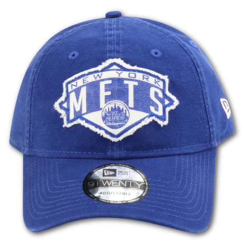 NEW YORK METS PATCHED NEW ERA 9TWENTY DAD HAT