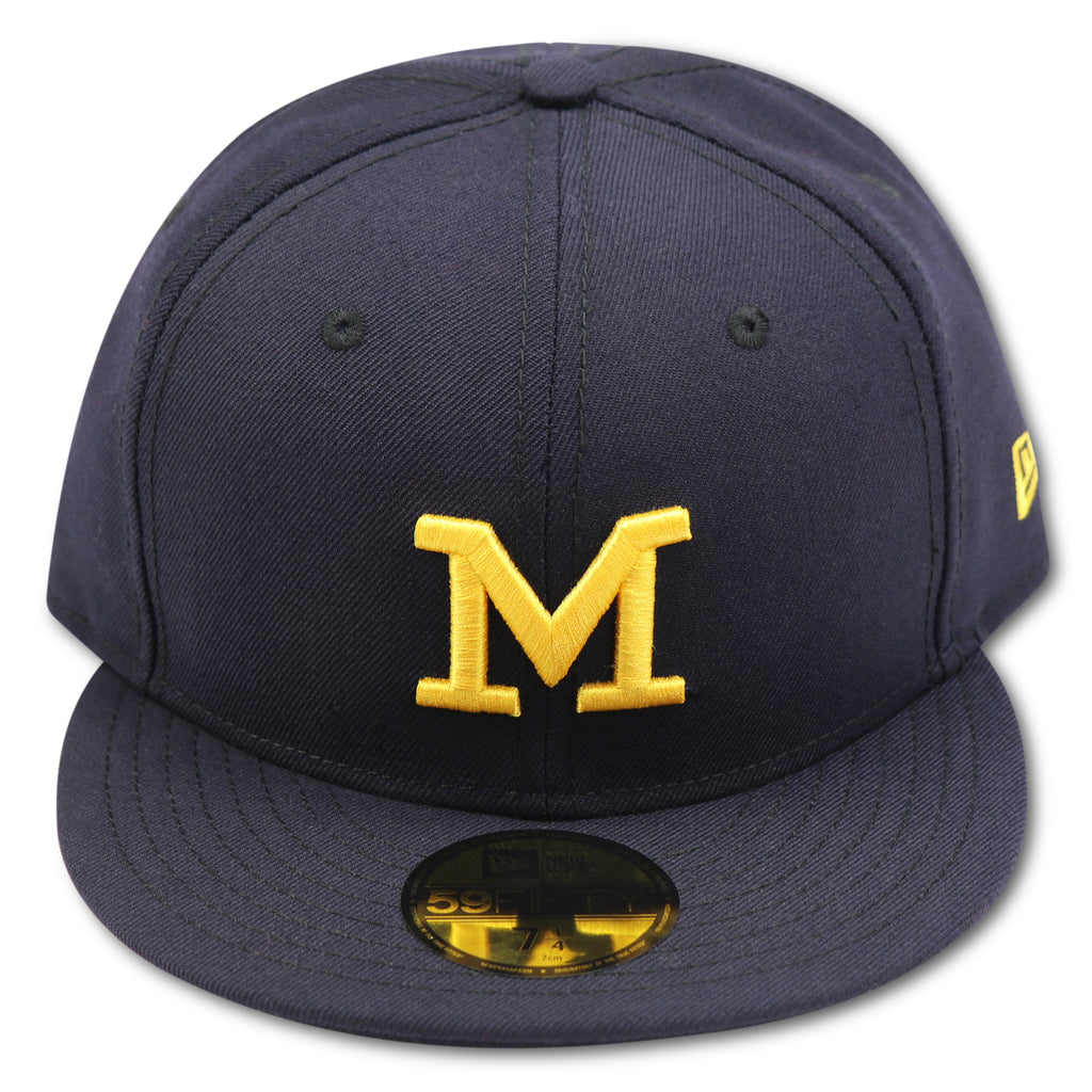 MICHIGAN WOLVERINES NEW ERA 59FIFTY FITTED – 4ucaps.com c86230c7f7c