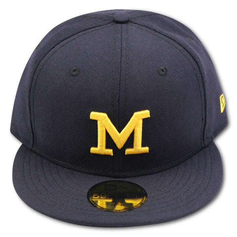 MICHIGAN WOLVERINES NEW ERA 59FIFTY FITTED