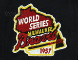 MILWAUKEE BRAVES 1957 WORLD SERIES NEW ERA 59FIFTY FITTED PATCH
