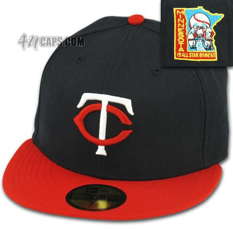 MINNESOTA TWINS 1965 ALL STAR GAME NEW ERA 59FIFTY FITTED
