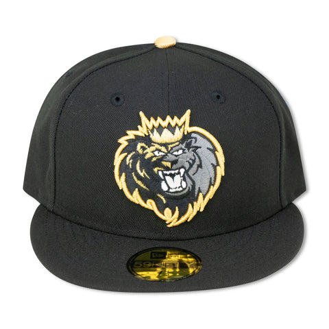 MANCHESTER MONARCH NEW ERA 59FIFTY FITTED (GOLD BOTTOM) (AIR JORDAN 6 RETRO DMP)