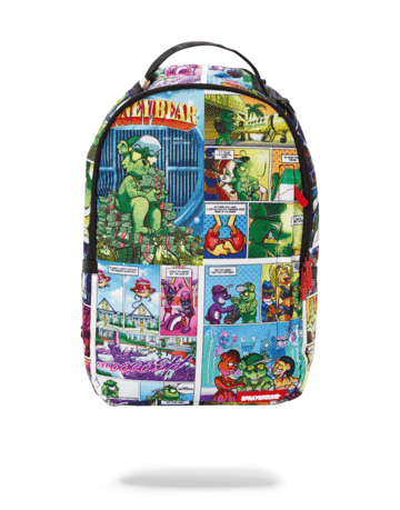 SPRAYGROUND MONEY BEAR COMIC BACKPACK
