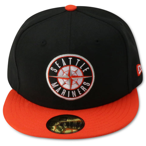 SEATTLE MARINERS NEWERA 59FIFTY FITTED (AIRJORDAN1 RETRO SHATTERED BACKBOARDS AWAY)