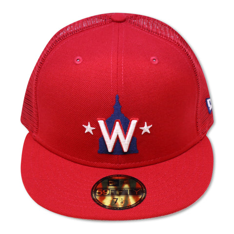 WASHINGTON NATIONALS (TRUCKER MESH) NEW ERA 59FIFTY FITTED