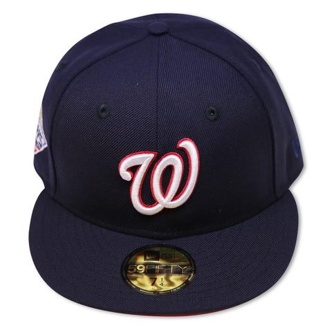 WASHINGTON NATIONALS 2019 WORLDSERIES NEW ERA 59FIFTY FITTED (RED BOTTOM)