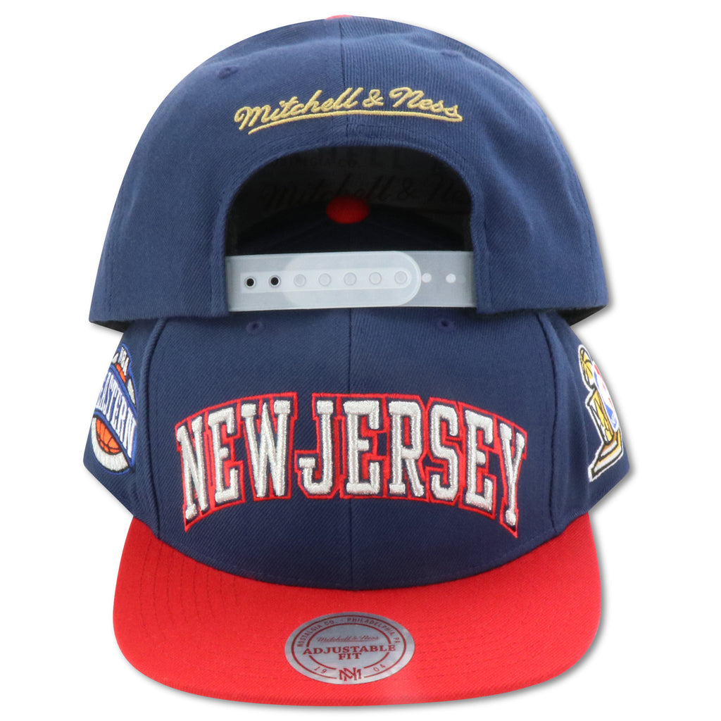 more photos db53a ff765 NEW JERSEY NETS 2002 FINALS MITCHELL & NESS SNAPBACK (092VZ)