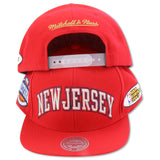 NEW JERSEY NETS 2003 FINALS MITCHELL & NESS SNAPBACK (093VZ)