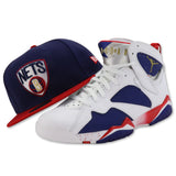 BROOKLYN NETS NEW ERA 59FIFTY FITTED (JORDAN 7 RETRO OLYMPIC ALTERNATE)