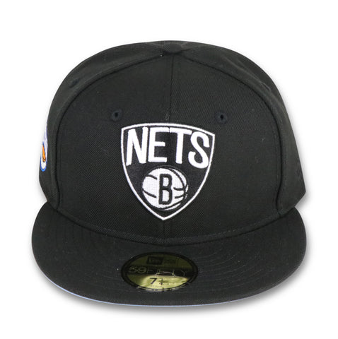 "BROOKLYN NETS ""EASTERN CONFERENCE"" NEW ERA 59FIFTY FITTED (SKY BLUE BOTTOM)"