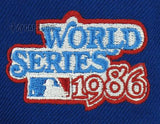 NEW YORK METS 1986 WORLD SERIES NEW ERA 59FIFTY FITTED Patch