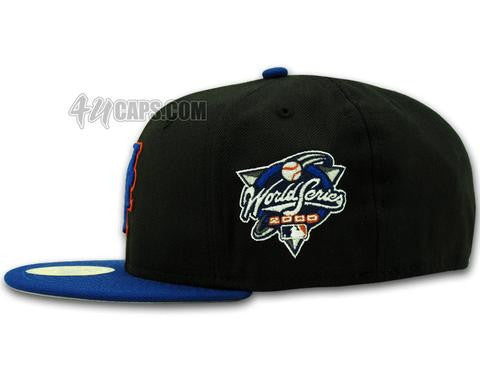 dc3cf3cd2f2 NEW YORK METS 2000 WORLD SERIES NEW ERA 59FIFTY FITTED (GREY BRIM ...
