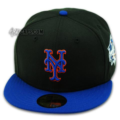 NEW YORK METS 2000 WORLD SERIES NEW ERA 59FIFTY FITTED (GREY BRIM ... 4c3647d3318