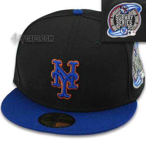 NEW YORK METS SUBWAY WORLD SERIES NEW ERA 59FIFTY FITTED