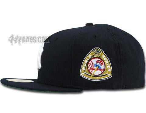 NEW YORK YANKEES 1950 WORLD SERIES NEW ERA 59FIFTY FITTED GRAY BRIM ... e3230f4f5fa