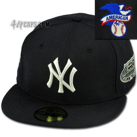 5f05fb89 NEW YORK YANKEES 2008 ALL STAR GAME NEW ERA 59FIFTY FITTED GREY BRIM –  4ucaps.com