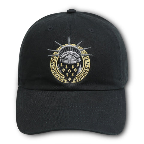 MIGHTY NYC NO LIBERTY BLACK DAD HAT
