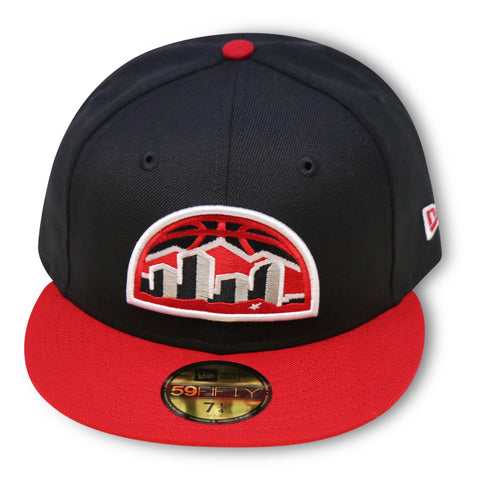 DENVER NUGGETS NEW ERA 59FIFTY FITTED (AIR JORDAN 4 RETRO BRED)