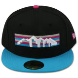 DENVER NUGGETS NEW ERA 59FIFTY FITTED (BIG BANG FOAMPOSITE)