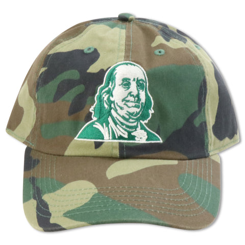 MIGHTY NYC CAMO BENNY DAD HAT