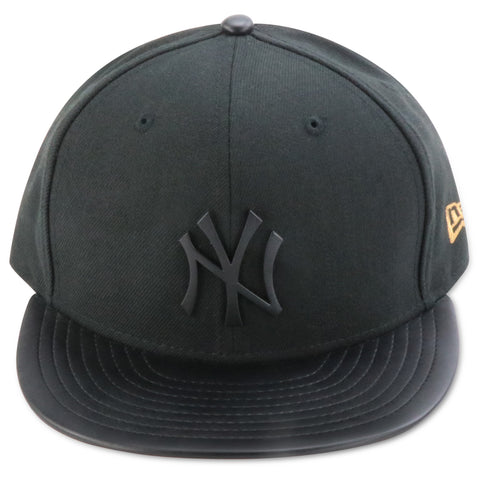 NEW YORK YANKEES METALLIC LOGO NEW ERA 59FIFTY FITTED (COPPER FOAMS)
