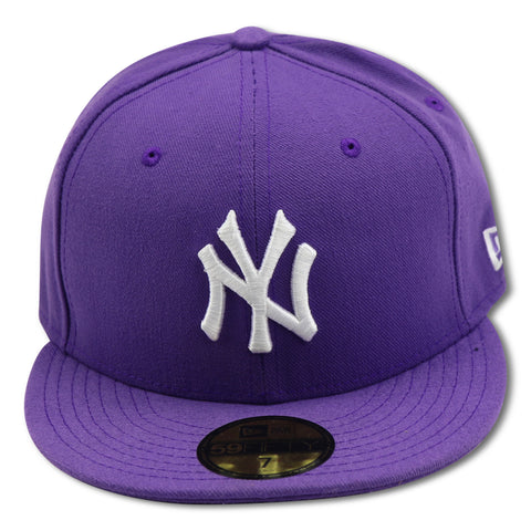 NEW YORK YANKEES (PURPLE) NEW ERA  59FIFTY FITTED