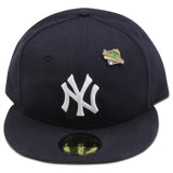 NEW YORK YANKEES 1996 WORLD SERIES PIN NEW ERA FITTED