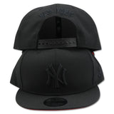 NEW YORK YANKEES NEW ERA SNAPBACK (ALL BLACK)