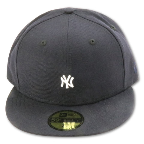 NEW YORK YANKEES MINI LOGO NEW ERA 59FIFTY FITTED
