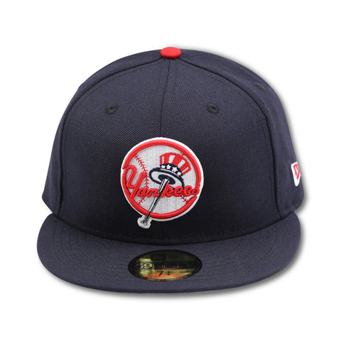 NEW YORK YANKEES TOP HAT LOGO NEW ERA 59FIFTY FITTED