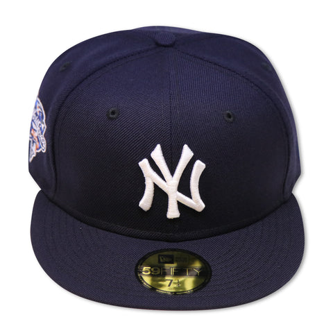 "NEW YORK YANKEES (NAVY)""2000 WORLDSERIES"" NEW ERA 59FIFTY FITTED ( PINK BOTTOM)"