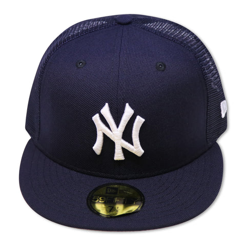 NEW YORK YANKEES TRUCKER MESH NEW ERA 59FIFTY FITTED