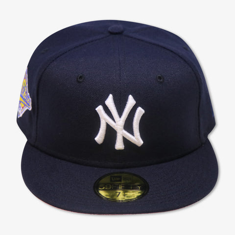 "NEW YORK YANKEES ""1996 WORLDSERIES"" NEW ERA 59FIFTY FITTED (PINK BOTTOM)"