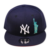 "NEW YORK YANKEES ""LIBERTY"" RED BOTTOM SNAPBACK"
