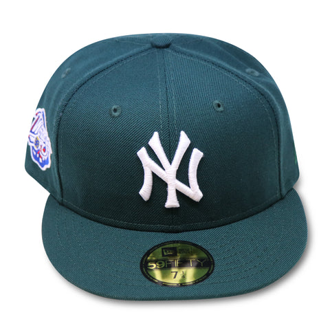 NEW YORK YANKEES GREEN 1998 WORLDSERIES NEW ERA 59FIFTY FITTED (WATERMELON) RED BOTTOM