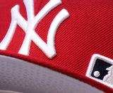 "NEW YORK YANKEES (RED) ""2009 INAUGURAL ""ONE-OFF"" NEWERA 59FIFTY FITTED"