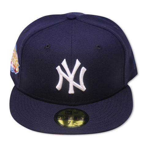 "NEWYORK YANKEES ""2009 WORLDSERIES"" NEW ERA 59FIFTY FITTED (PINK BOTTOM)"