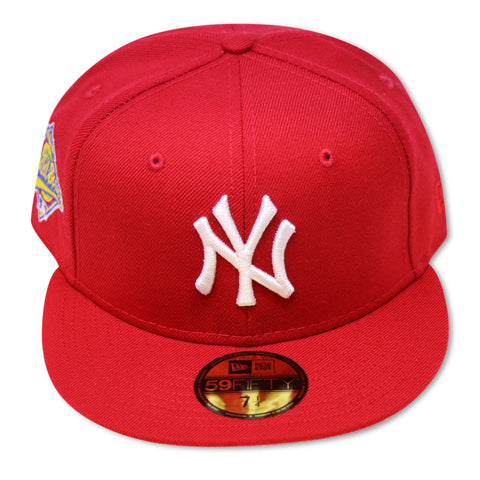 NEW YORK YANKEES (RED) 1996 WORLDSERIES NEW ERA 59FIFTY FITTED