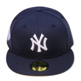 "NEW YORK YANKEES  ""1999 WORLDSERIES"" NEW ERA 59FIFTY FITTED ( YELLOW BOTTOM)"