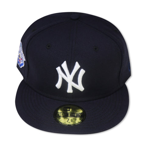 "NEW YORK YANKEES ""1998 WORLDSERIES"" NEW ERA 59FIFTY FITTED (SKY BLUE BOTTOM)"