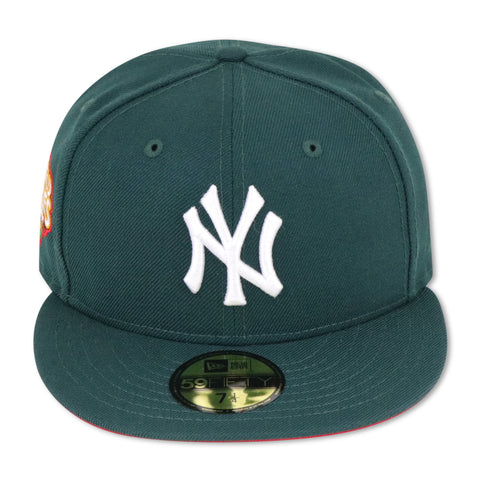 "NEW YORK YANKEES (GREEN) ""2009 WORLDSERIES"" NEW ERA 59FIFTY FITTED (RED BOTTOM)"
