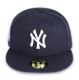 "NEW YORK YANKEES  ""2000 SUBWAY SERIES"" NEW ERA 59FIFTY FITTED (SKY BLUE BOTTOM)"