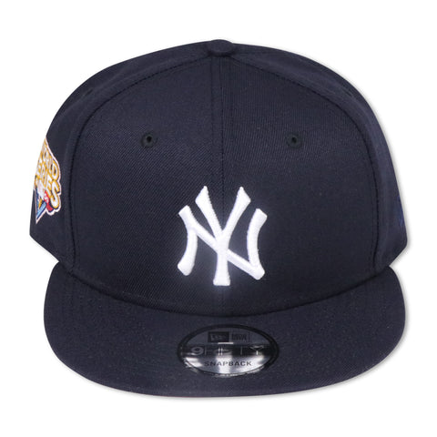 "NEW YORK YANKEES (NAVY) ""2009 WORLDSERIES"" NEW ERA 9FIFTY SNAPBACK (PINK BOTTOM)"