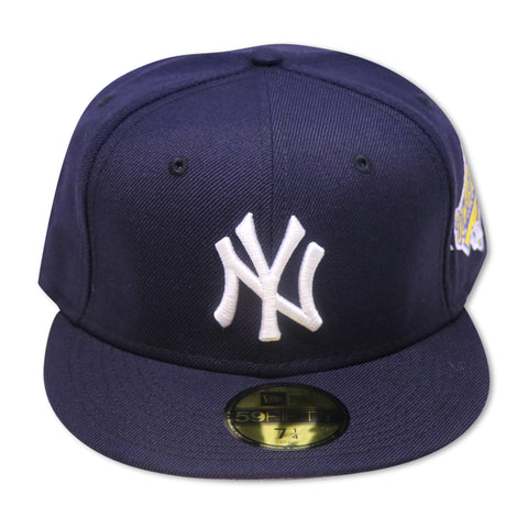 NEW YORK YANKEES 1996 WORLD SERIES NEW ERA 59FIFTY FITTED (GREY BRIM)